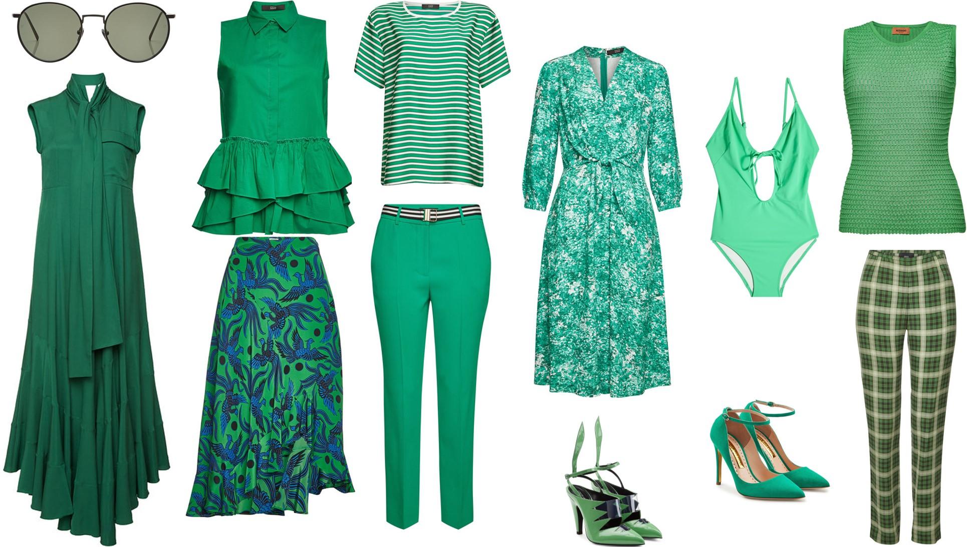 Go green, …