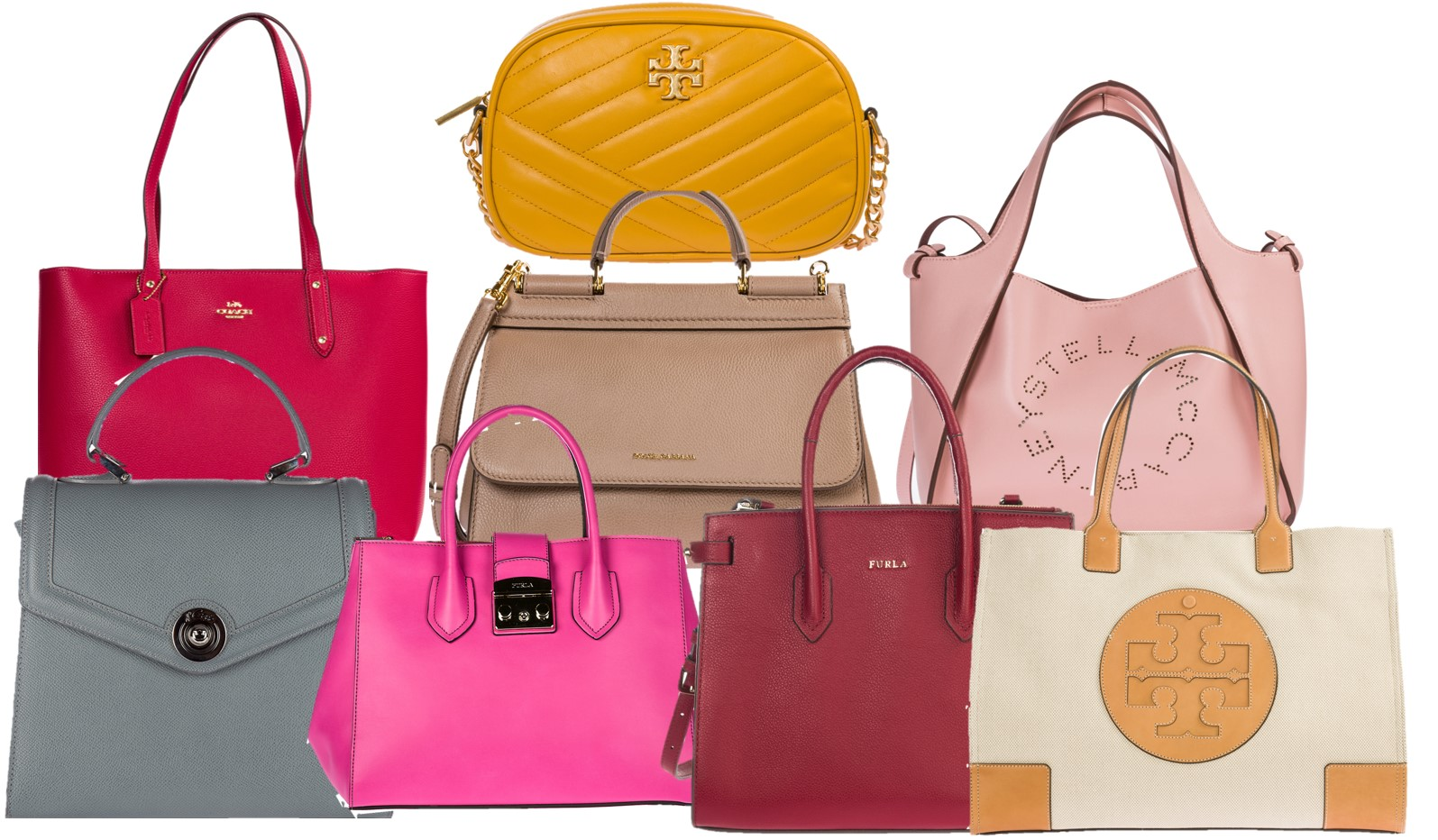 Bags, and more … bags …