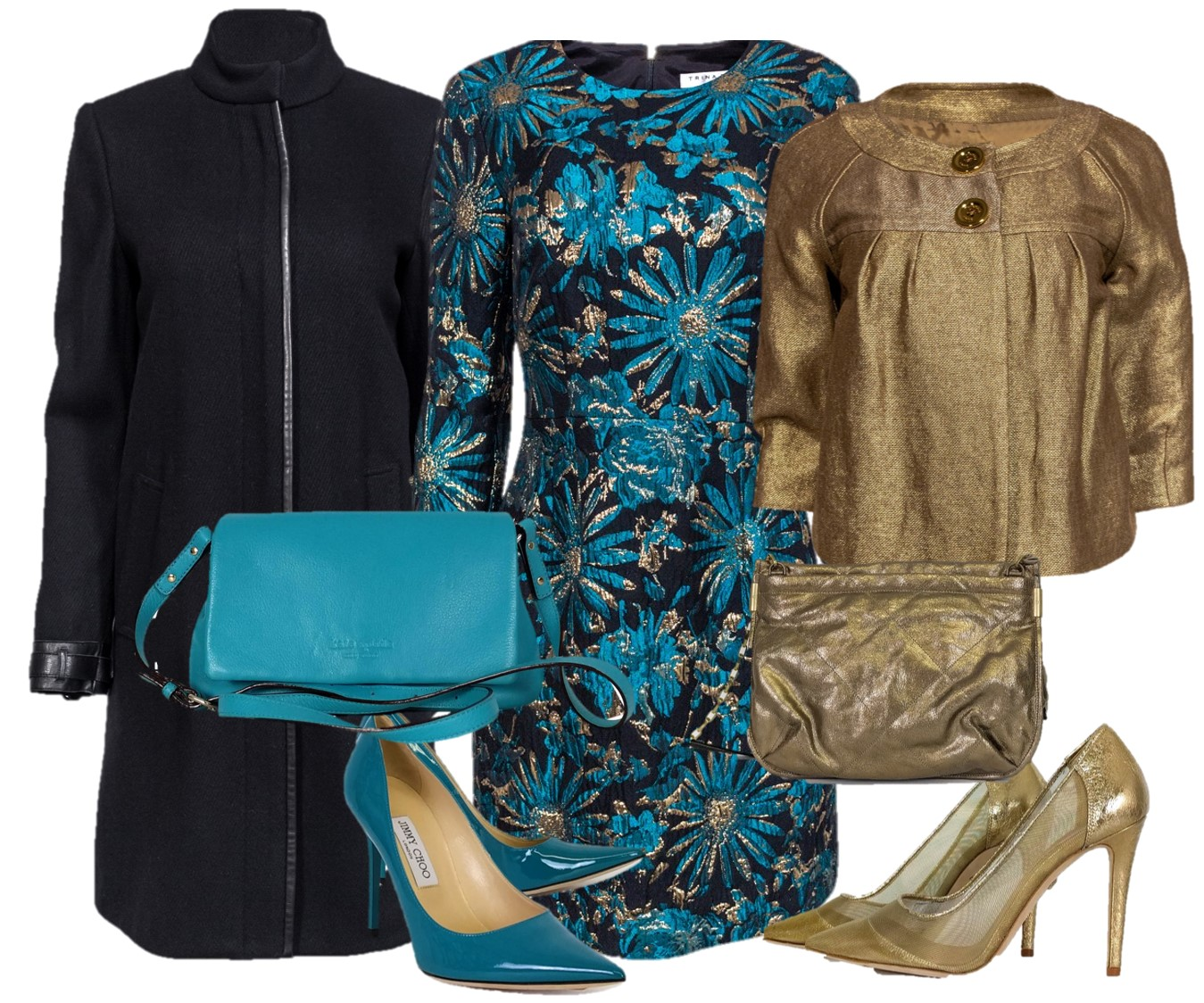 One dress – two outfits for the evening